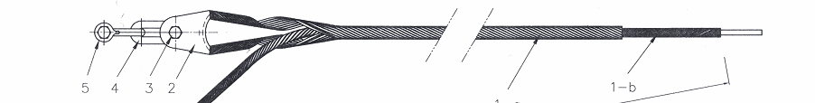 Bộ néo cáp quang ADSS cho các loại khoảng vượt:  100m, 200m, 300m, 500m, 700m, 900m.