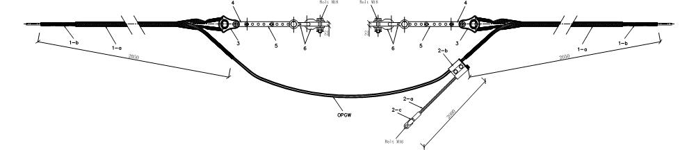 Bộ néo cáp quang chống sét OPGW