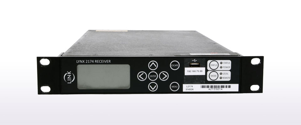 LINK L2174 LYNX – HIGH DEFINITION VIDEO RECEIVER/DECODER